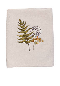 Avanti Foliage Garden Washcloth
