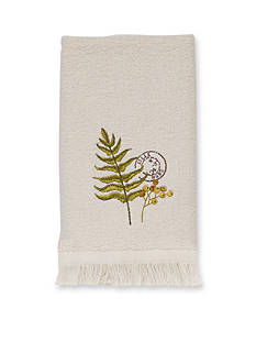 Avanti Foliage Garden Fingertip Towel