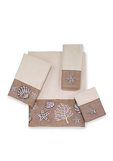 Avanti Ocean Gems Ivory Fingertip Towel