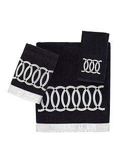 Avanti Alexa Black Bath Towel