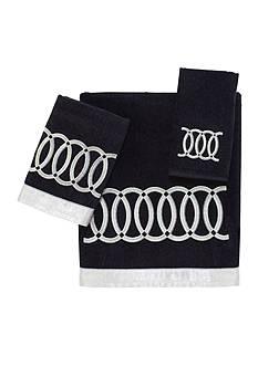 Avanti Alexa Black Fingertip Towel