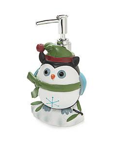 Avanti Christmas Owl Lotion Dispenser