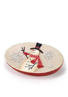 Avanti Tall Snowman Soap Dish