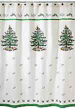 Christmas Tree Shower Curtain 72-in. x 72-in