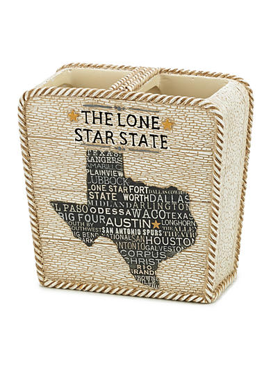 Avanti Lone Star State Toothbrush Holder
