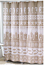 Sea and Sand Shower Curtain 72-in. x 72-in.