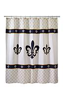 Avanti Luxembourg Ivory Shower Curtain