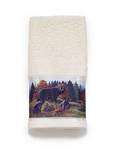 Avanti Black Bear Towel Collection