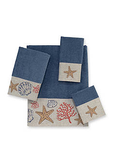 Avanti Sea Treasure Slate Towel Collection