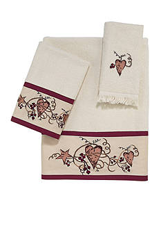 Avanti Hearts & Stars Towel Collection