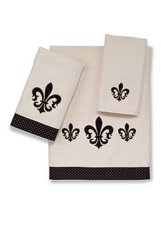 Avanti Luxembourg Ivory Bath Towel Collection