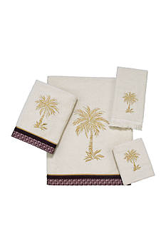 Avanti Oasis Palm Towel Collection