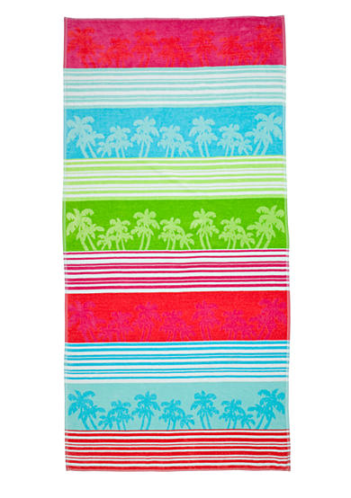 Home Accents® Jacquard Linear Palm Beach Towel