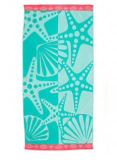 Home Accents® Star and Clams Beach Towel