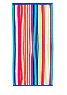 Home Accents® Candy Stripe Beach Towel