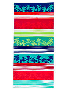 Home Accents® Linear Palm Beach Towel