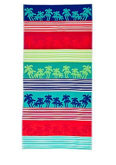 Home Accents Linear Palm Beach Towel