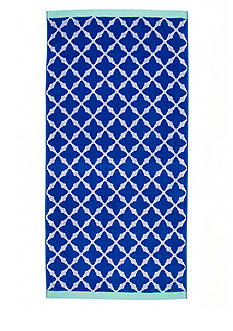 Home Accents® Lattice Love Beach Towel