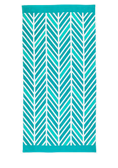 Home Accents® Broken Chevron Beach Towel
