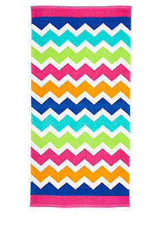 Home Accents® Ombre Chevron Beach Towel