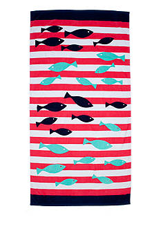 Home Accents® Fish Friends Beach Towel