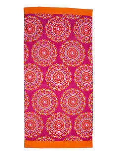 Home Accents® Summer Medallion Beach Towel