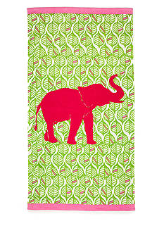 Home Accents® Center Elephant Beach Towel