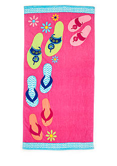Home Accents Walking Flops Beach Towel