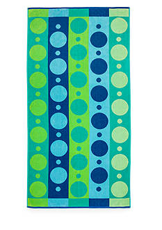 Home Accents® Oh Geo Blues Beach Towel