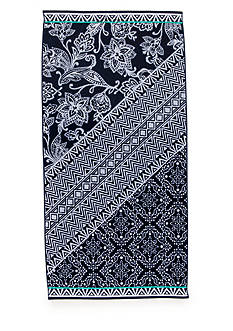 Home Accents® Capri Isle Blue Beach Towel