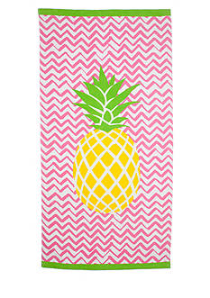 Home Accents Center Pineapple Beach Towel