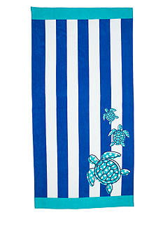 Home Accents Turtle Friends Beach Towel
