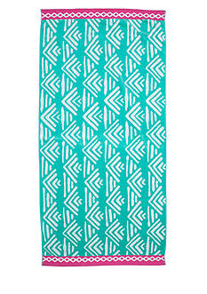 Home Accents Geo Waves Beach Towel