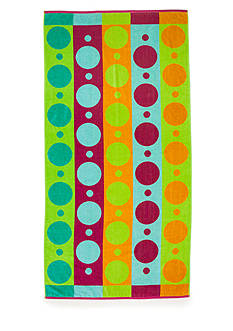 Home Accents Oh Geo Neon Beach Towel