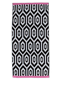 Home Accents® Diamond Geo Beach Towel
