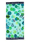 Home Accents® Sand Box Shells Beach Towel