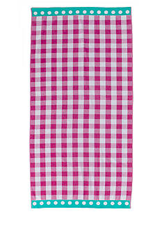 Home Accents® Gingham Check Beach Towel