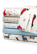 Home Accents® Flannel Fleece Sheet Set