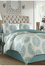 Bristol Full/Queen Duvet Set 92-in. x 88-in.
