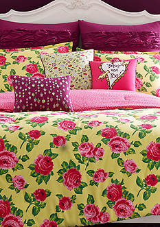 Betsey Johnson Betsey's Garden Bedding Collection
