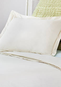 AllerEase Decorative Allergy Pillow Shams Std/Qn 2pk