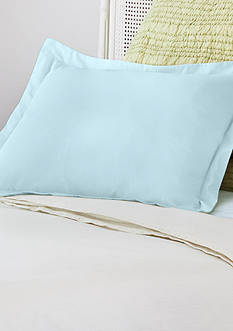 AllerEase Decorative Allergy Pillow Shams King Blue 2pk