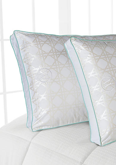 Waverly® Metallic Criss Cross Twin Pack Pillows - Online Only