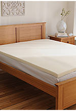 4-in. Full Memory Foam Topper 51-in. x 72-in.