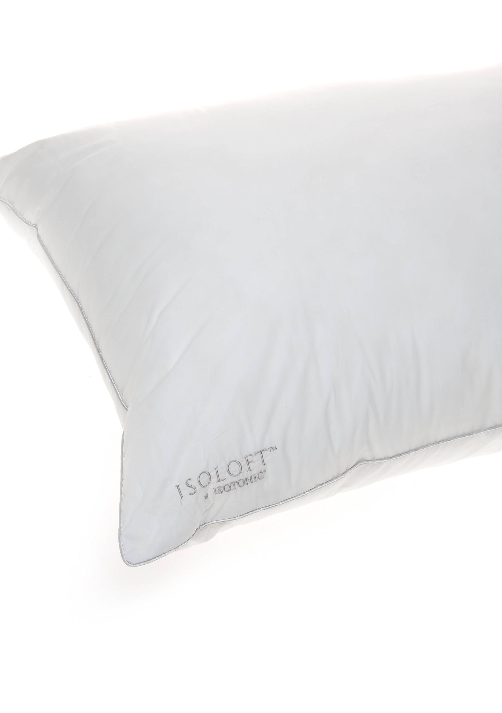 White bed pillows - Isotonic Isoloft Memory Fiber Bed Pillow 9200182isoloftplwsq Images