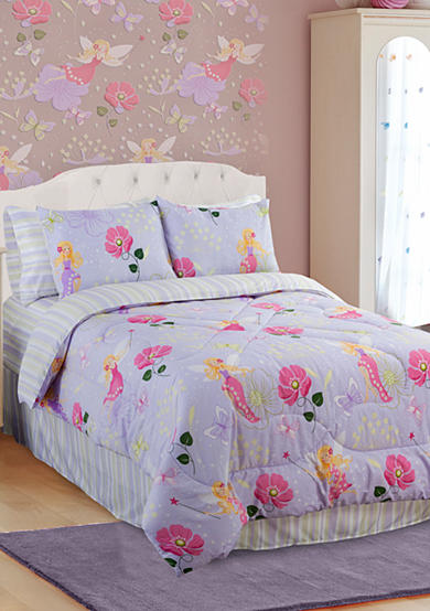 Veratex Glow in the Dark Fairy Light Comforter Set Collection