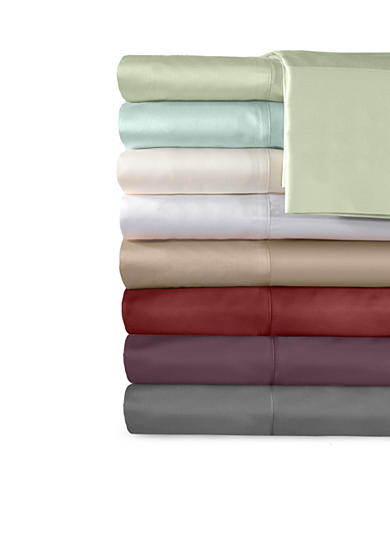 Veratex Supreme Sateen 500 Thread Count Solid Sheet Collection - Online Only