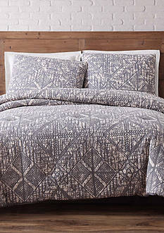 Brooklyn Loom Sand Washed Full/Queen Duvet Set