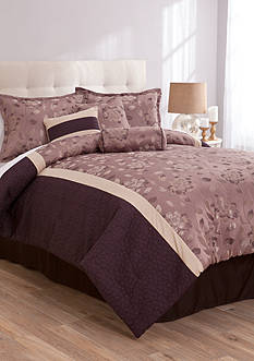 Lifestyle Home™ Liza 7-Piece Comforter Set