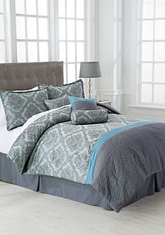 Lifestyle Home™ Rosalie 7-Piece Comforter Set